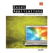 Excel Applications for Accounting Principles, 4th Edition
