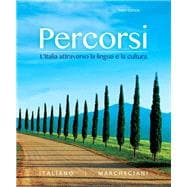 Percorsi L'Italia attraverso la lingua e la cultura Plus MyItalianLab with Pearson eText (multi-semester) -- Access Card Package