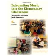 Bundle: Integrating Music into the Elementary Classroom, 9th + Premium Site with eBook Printed Access Card, 9th Edition