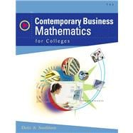 Contemporary Business Mathematics For Colleges (Book with CD-ROM)