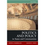 Politics And Policy In States And Communities- (Value Pack w/MySearchLab)