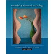 Essentials of Abnormal Psychology With Infotrac