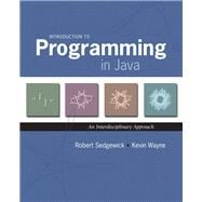 Introduction to Programming in Java An Interdisciplinary Approach