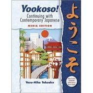 Yookoso! Continuing with Contemporary Japanese Media Edition prepack with Student CD-ROM