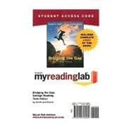MyReadingLab with Pearson eText -- Standalone Access Card -- for Bridging the Gap