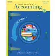Fundamentals of Accounting Course 1 (with Student CD-ROM)