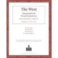 The West: Encounters & Transformations, Chapters 1-16