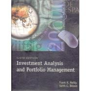 Investment Analysis and Portfolio Management