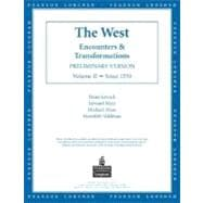 The West: Encounters & Transformations, Chapters 14-29
