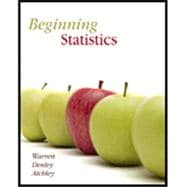 Beginning Statistics Text