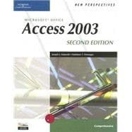 New Perspectives on Microsoft Office Access 2003, Comprehensive, Second Edition