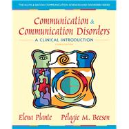 Communication and Communication Disorders A Clinical Introduction