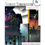 Technical Communication A Reader-Centered Approach with APA Update Card
