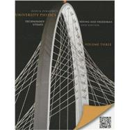 University Physics with Modern Physics Technology Update, Volume 3 (Chs. 37-44)