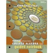 MyMathLab for Trigsted College Algebra -- Access Card and Guided Notebook for Trigsted College Algebra Package