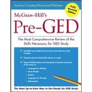 McGraw-Hill's Pre-GED The Most Competent and Reliable Review of the Skills Necessary for GED Study