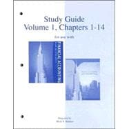 Study Guide, Volume 1, Chapters 1-14 to accompany Financial Accounting 13e, and Financial &amp; Managerial Accounting 14e