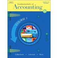 Fundamentals of Accounting Course 2 (with CD-ROM)