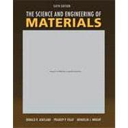 The Science & Engineering of Materials, 6th Edition