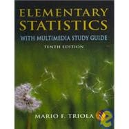 Elementary Statistics : With Mutlimedia Study Guide