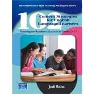 102 Content Strategies for English Language Learners : Teaching for Academic Success in Grades 3-12