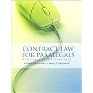 Contract Law for Paralegals Traditional and E-Contracts