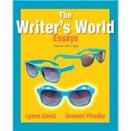 The Writer's World Essays Plus MyWritingLab with Pearson eText -- Access Card Package