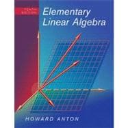 Elementary Linear Algebra, 10th Edition