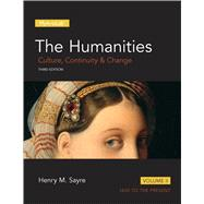 Humanities Culture, Continuity and Change, Volume II, The