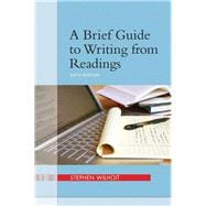 Brief Guide to Writing from Readings, A, Plus MyWritingLab -- Access Card Package