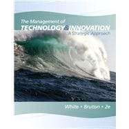 The Management of Technology and Innovation A Strategic Approach