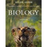 Study Guide for Biology : Concepts and Connections