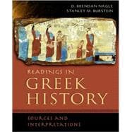 Readings in Greek History Sources and Interpretations