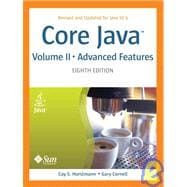 Core Java(TM) 2, Volume II--Advanced Features