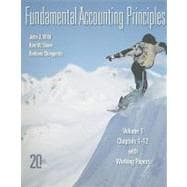 Fundamental Accounting Principles Volume 1 (CH 1-12) softcover with Working Papers