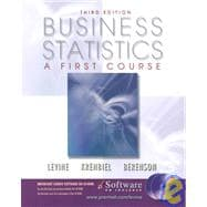 Business Statistics : A First Course