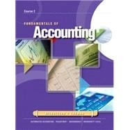 Fundamentals of Accounting : Course 2