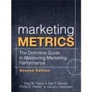 Marketing Metrics The Definitive Guide to Measuring Marketing Performance