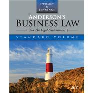 Anderson�s Business Law and the Legal Environment, Standard Edition