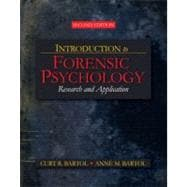 Introduction to Forensic Psychology : Research and Application
