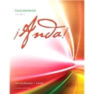 �Anda! Curso elemental, Volume 2 Plus MySpanishLab with eText (one semester) -- Access Card Package
