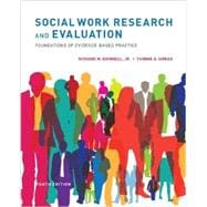 Social Work Research and Evaluation Foundations of Evidence-Based Practice
