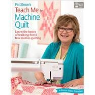 pat sloans teach machine quilt