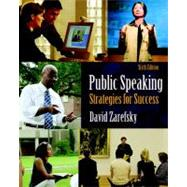 Public Speaking : Strategies for Success