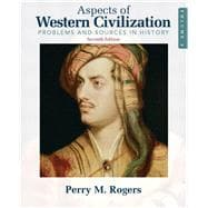 Aspects of Western Civilization Problems and Sources in History, Volume 2