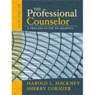 The Professional Counselor A Process Guide to Helping