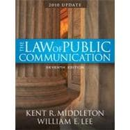 Law of Public Communication, 2008 Update Edition, The, CourseSmart eTextbook