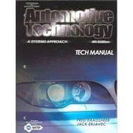 Automotive Technology Tech Manual: A Systems Approach