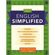 English Simplified Plus MyWritingLab with Pearson eText -- Access Card Package