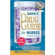 Davis's Drug Guide for Nurses (Book with CD-ROM + Access Code)